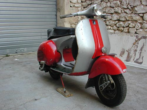 achat moto vespa acma 1955. Black Bedroom Furniture Sets. Home Design Ideas