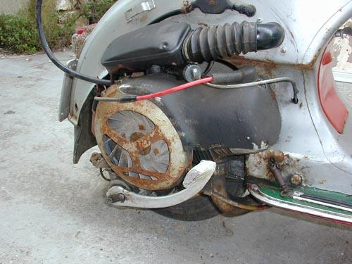 vespa acma moteur