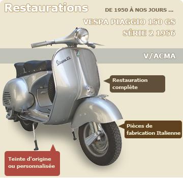 best loved 100% quality best shoes Pièces vespa et acma chez Vintage Scooter Service - Vente en ...